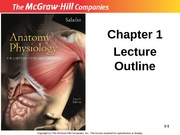 1 A&P Introduction-Lecture