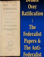 Federalist Papers 10 and 51 (1)