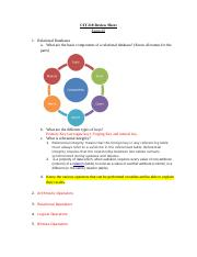 CIS 332 Exam #2 Review Sheet FA 16.docx