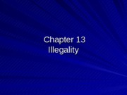 leb.pp.13 (Illegality)
