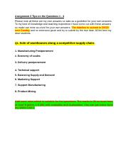 WOU ASSIGNMENT 2 - WAREHOUSE MANAGEMENT TIPS -  JAN SEMESTER 2020.docx