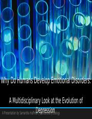 Why Do Humans Develop Emotional Disorders.pptx