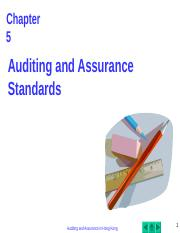 2nd AA_Chapter_05_Auditing Standards