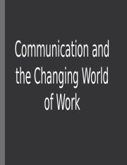 Communication of changing World.pptx