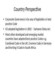 Emergence of corporate governance in India