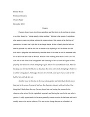 "Essay on ""Owners"" Yale New Haven Rep"