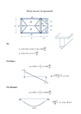 Assignment #4 Design of Reinforced Concrete Structures Model Answer