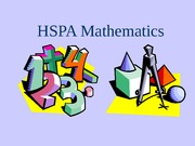 HSPA Mathematics