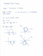 Polar Coordinates using loops