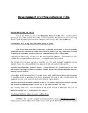 Development of coffee..docx