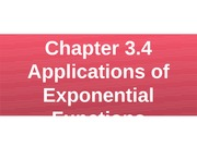Chapter 3.4 Applications