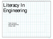 Literacy In Engineering