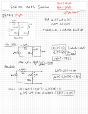 Time-Varying Circuits Practice Problems