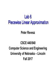 13. Lab on Piecewise Linear Approximation.pdf