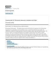 Learning unit 14- Persuasive advocacy- substance and style.pdf