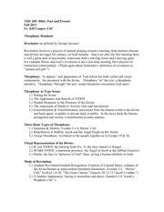 Theophany Handout notes (1)