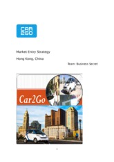 Car2Go business analysis