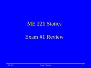Lecture 08a Exam 1