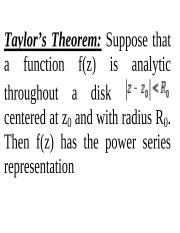 Laurent and Residue Theorem.ppt