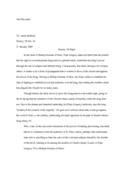 essay for hist 1b