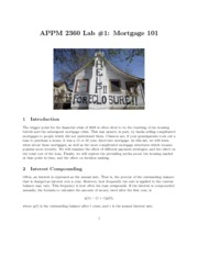 2360_lab1_MortgageLab