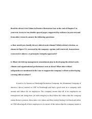 Alcoa s core values essay example