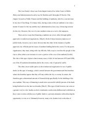 case study running head public administration is an essay 4 pages