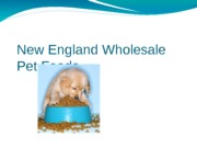 New England Wholesale Pet Foods
