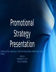 Week 5 MKT 421 Promotional Strategy Presentation GLP.pptx
