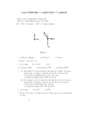 physics final solutions