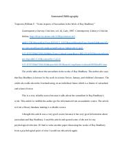 Annotated Bibliograph3