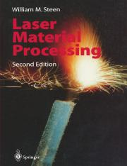 Laser Material Processing 2nd edition