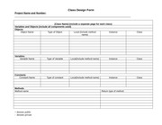 Class Design Form-Revised F2014