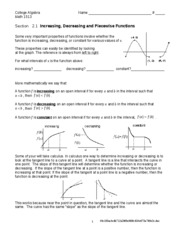 Worksheet 2.1