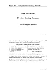 201-#2-Product costing-F'15 (STUD)