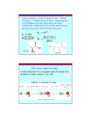 17 Acid-Base Salts & Calculations