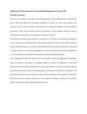 Monitoring and Measurement of Environmental Management System.docx