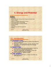 Electromagnetic theory-ECE305_Chapter4 Energy and Potential