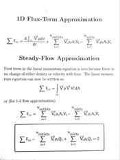 Steady Flow Approximation
