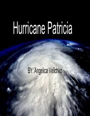 Hurricane Patricia Unit Activity_ Clothing, Seasons and the Weather