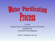 Wk3-Water+Purification