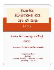Lecture 1-2 Course info and Brief History (1)