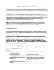 Module Six Discussion Worksheet.docx