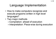 Language implementation (3)