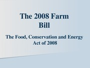 Farm+bill+PPT