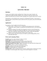 QUEUING THEORY-5