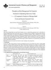 Barings bank crisis case study