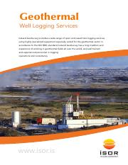 Well Logging Services_0