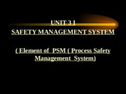 Safety_magement 2014_isrs.ppt