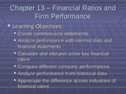 Financial ratios and Firm performance 2